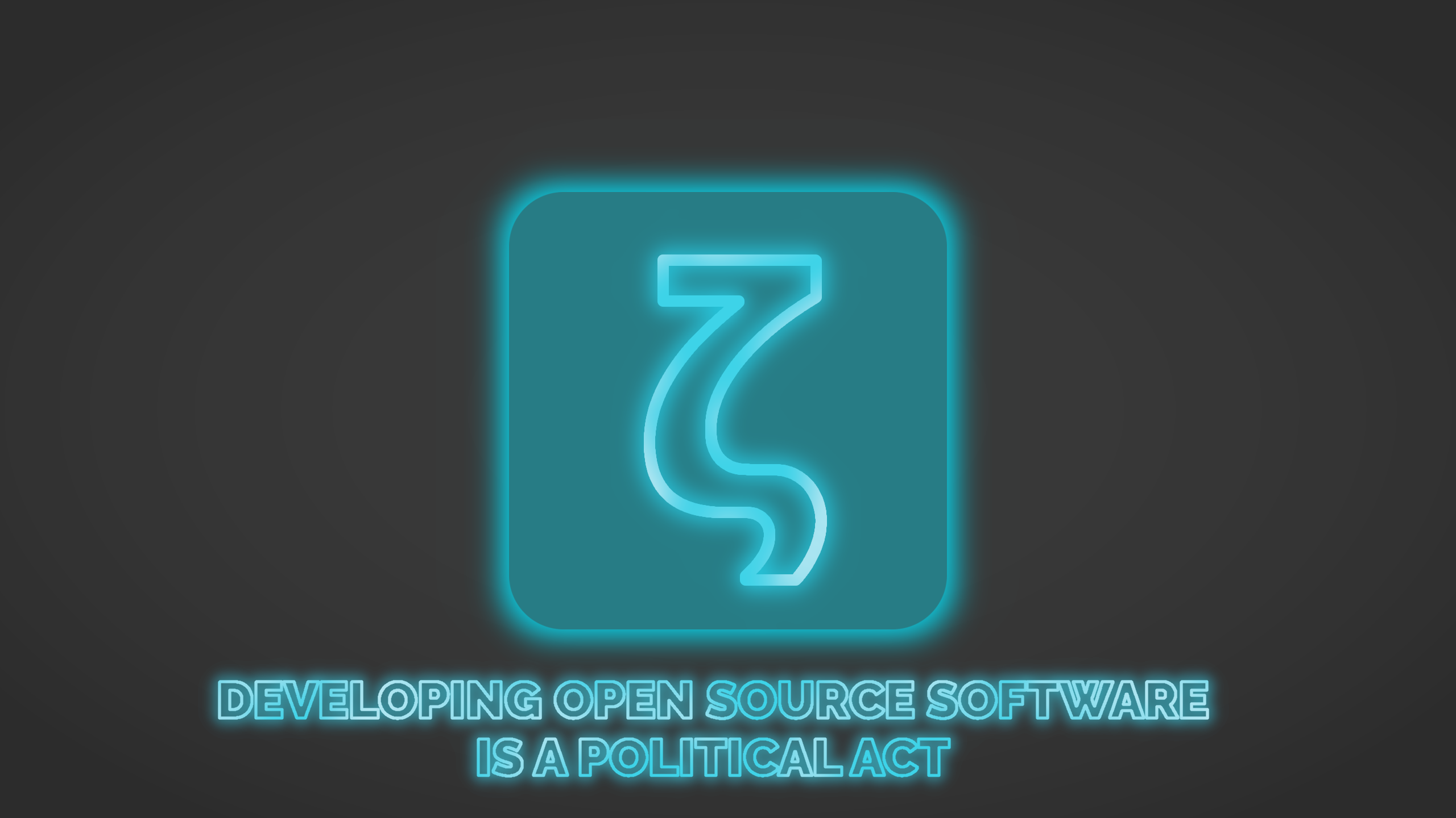 Release: Developing Open Source is a Political Act